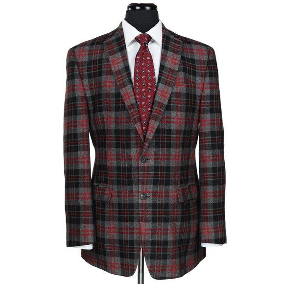 Izod Other - Izod 2-Button Wool Blend Blazer Sport Coat 40L